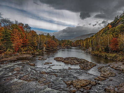 Pemigewasset River Art Print by Capt Gerry Hare