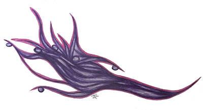 Pen Velvetwave  Art Print by Jamie Lynn
