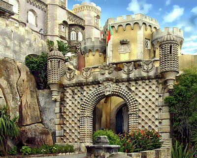 Photograph - Pena National Palace by Anthony Dezenzio