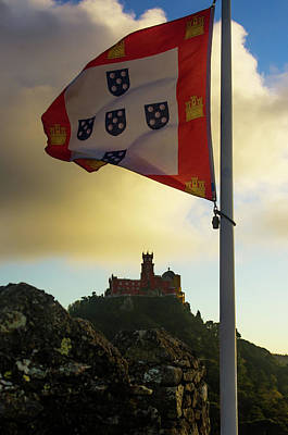 Pena Photograph - Pena Palace In Sintra by Carlos Caetano
