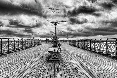 Photograph - Penarth Pier And Mv Balmoral  by Steve Purnell