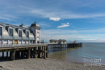 Photograph - Penarth Pier Glorious Day by Steve Purnell
