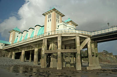 Photograph - Penarth Pier by Jeremy Voisey