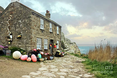 Photograph - Penberth Cottage by Terri Waters