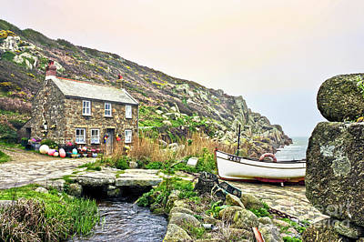 Photograph - Penberth Cove by Terri Waters