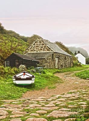 Photograph - Penberth Fish Cellar by Terri Waters