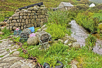 Photograph - Penberth Stream by Terri Waters