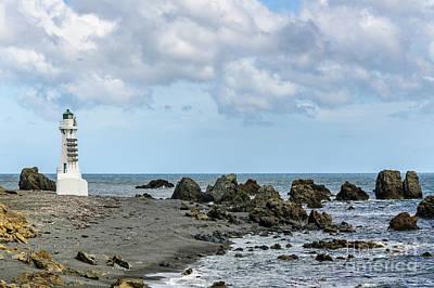 Photograph - Pencarrow Head Lower Lighthouse by Werner Padarin