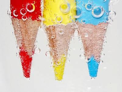 Color Digital Art - Pencil by Maye Loeser