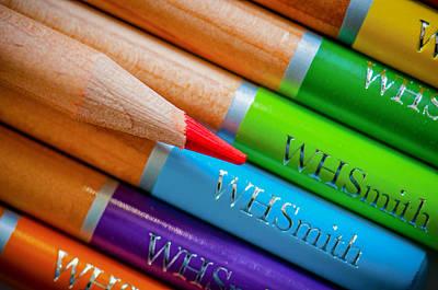 Pencils 3 Art Print