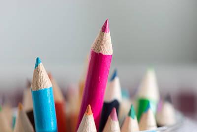 Pencils 4 Art Print