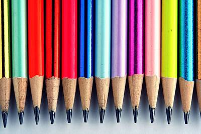 Draw Photograph - Pencils by Jun Pinzon