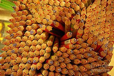 Pencils Pencils Everywhere Pencils Get The Point...lol Art Print