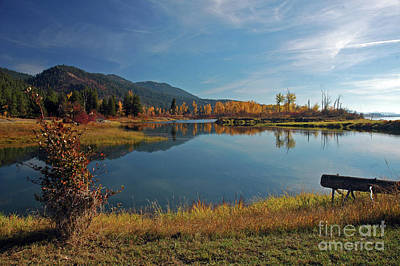 Photograph - Pend Oreille River by Cindy Murphy - NightVisions