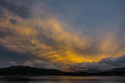 Photograph - Pend Oreille River Sunset 1 by Albert Seger