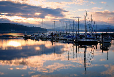 Photograph - Pend Oreille Sailboats by Idaho Scenic Images Linda Lantzy