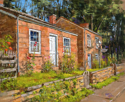 Painting - Pendarvis House by Mark Mille
