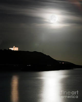Photograph - Pendennis Moonrise by Terri Waters