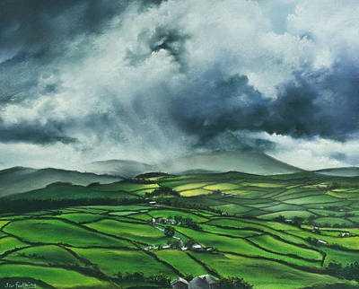 Pendle Hill. Lancashire.england. Art Print by Jan Farthing