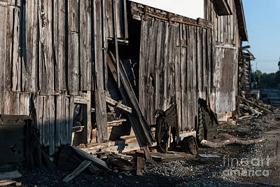 Photograph - Pendleton Mill Remains by Dale Powell