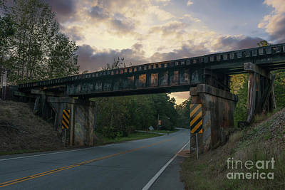 Photograph - Pendleton Train Trestle by Dale Powell