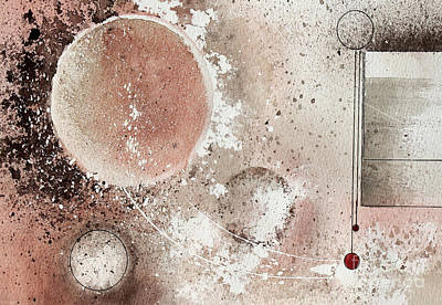Painting - Pendulum by Monte Toon