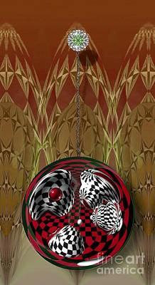 Pendulum Digital Art - Pendulum by Peter Maricq