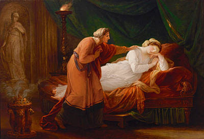 Painting - Penelope Awakened By Eurycleia by Angelica Kauffmann