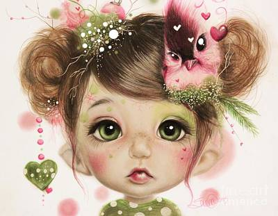 Penelope  Art Print by Sheena Pike