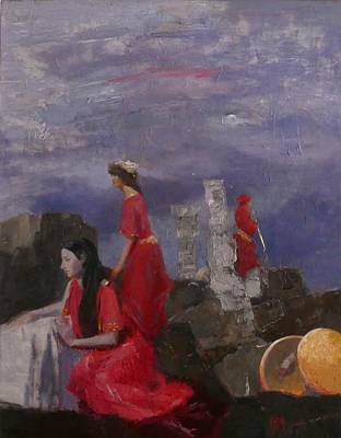 Painting - Penelope, Waiting by Irena Jablonski
