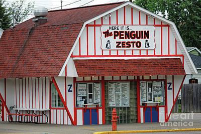 Photograph - Penguin Zesto East In Winona, Mn By Yearous by Kari Yearous