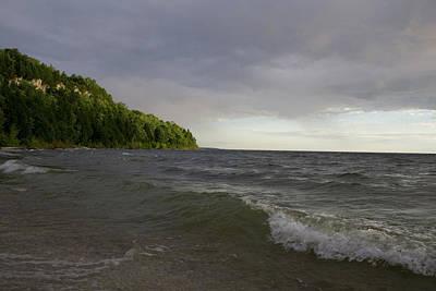 Photograph - Peninsula Light Break by Dylan Punke