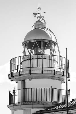 Peniscola Lighthouse Of Spain Art Print