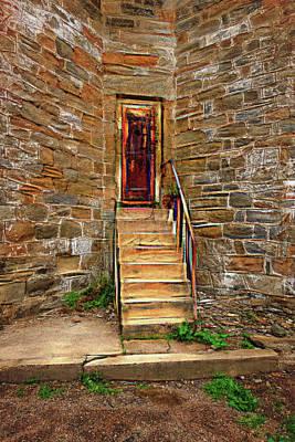 Photograph - Penitentiarytower Door by Tom Singleton