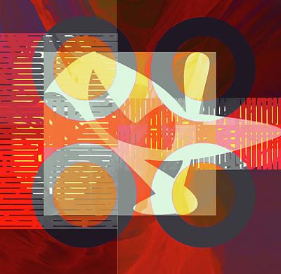 Digital Art - Fusion Series by Andrew Penman