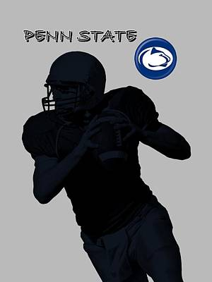 Penn State Football Art Print