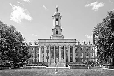 Penn State Old Main  Art Print by University Icons