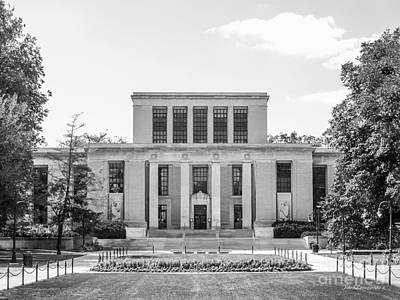 Diploma Photograph - Penn State University Pattee Paterno Library by University Icons