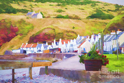 Photograph - Pennan by Diane Macdonald