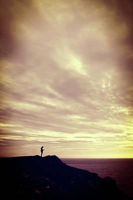 Photograph - Pennard Cliffs by Steve Ball