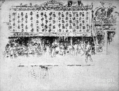Drawing - Pennell Brasserie, 1893 by Granger