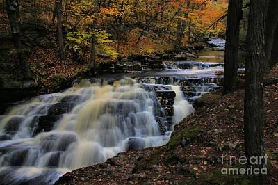 Photograph - Pennell Falls by Matthew Winn