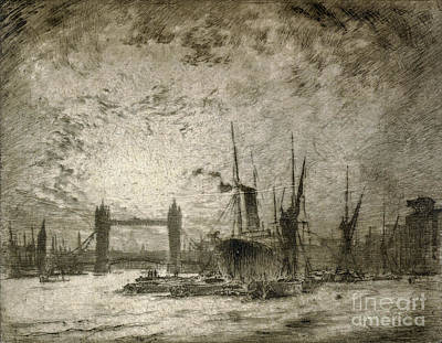 Drawing - Pennell London, 1905 by Granger