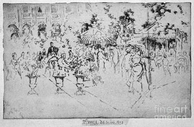Drawing - Pennell Palais Royal, 1893 by Granger