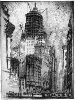 Drawing - Pennell Standard Oil, 1923 by Granger