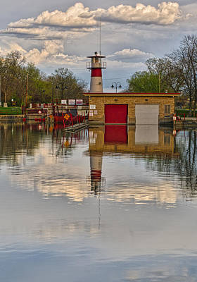 Tenney Lock 2 - Madison - Wisconsin Art Print by Steven Ralser