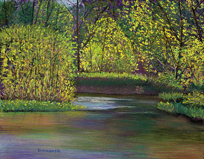 Pastel - Penns Creek by Denise Wagner