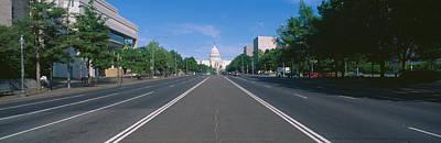 Pennsylvania Avenue, Washington Dc Art Print by Panoramic Images