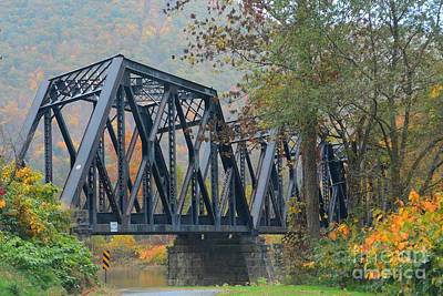 Pennsylvania Bridge Art Print by Cindy Manero