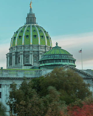 Photograph - Pennsylvania Capitol by Jim Cheney